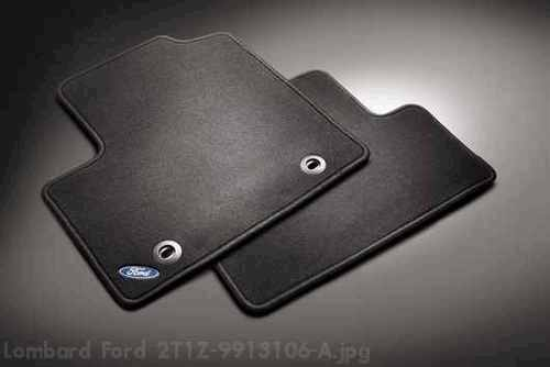 Ford Transit Connect Rear Floor Mats Premium Carpeted