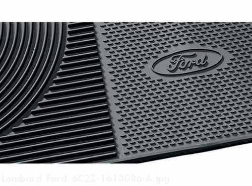 All Weather Floor Mats Vinyl, Black 2-Pc