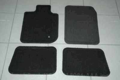 Production Carpeted Mats black