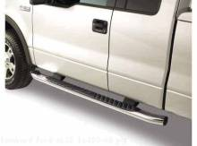 Step Bars - 5 Inch Chromed Aluminum