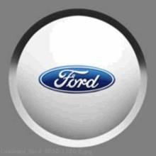 Center Caps, With Ford Logo