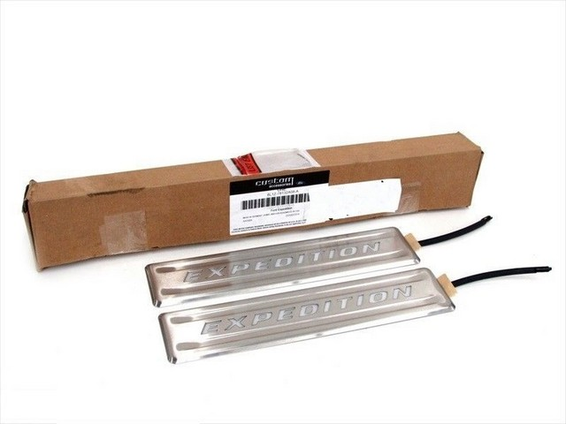 Illuminated Door Sills, Stainless