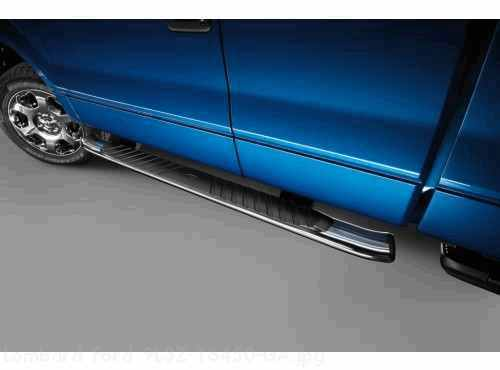 Ford F 150 Step Bars 5 Inch Black Super Crew