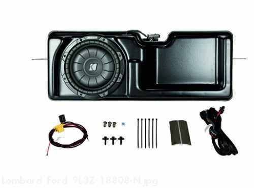 KICKER Subwoofer Audio Upgrade, Crew Cab