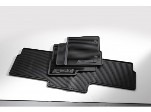 Floor Mats - All-Weather Vinyl SuperCab