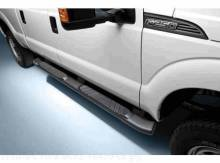 Step Bars - 5 Inch Black, Aluminum, Super Cab