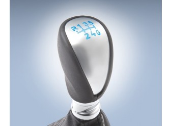 Gear Shift Knob Illuminated Black 6-Spd