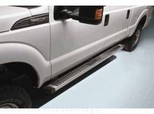 Step Bars - 6 Inch Chrome, Crew Cab