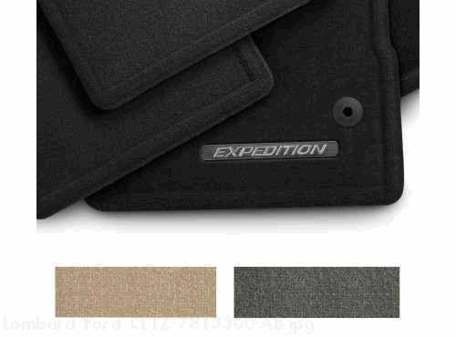 Floor Mats - Carpeted, 4-Pce w/logo