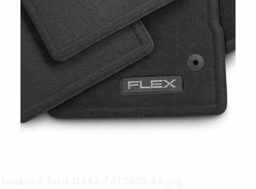 Floor Mats - Carpeted With FLEX logo