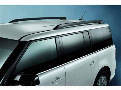 Ford Flex Accessories Roof Rails Black Side Rails