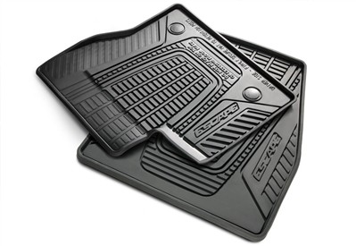 Ford Escape Floor Mats All Weather Rubber Black