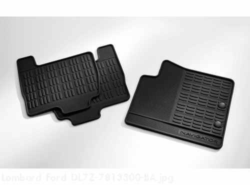 All Weather Mats Black 4-Pc Dual Deltar