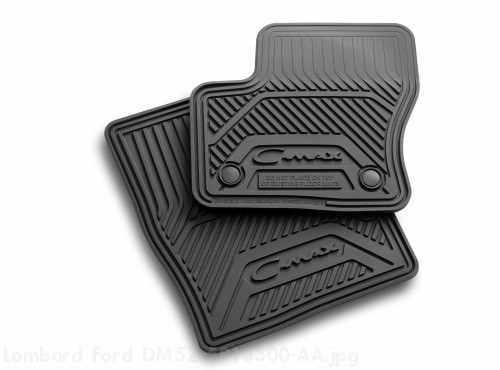Floor Mats All-Weather Vinyl Black h-duty
