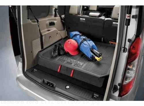 Ford Transit Connect Cargo Area Protector Black Lwb