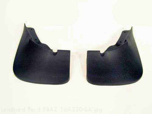 Splash Guards, Molded, Front Pair