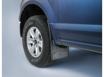 Splash Guards - Flat 2-Piece Set, w/Ford Logo