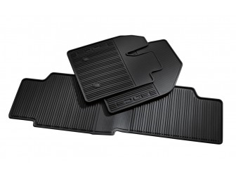 All-Weather Rubber, Black, 3-Piece