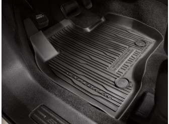 Floor Liner - Tray Style, 4-Piece, Black
