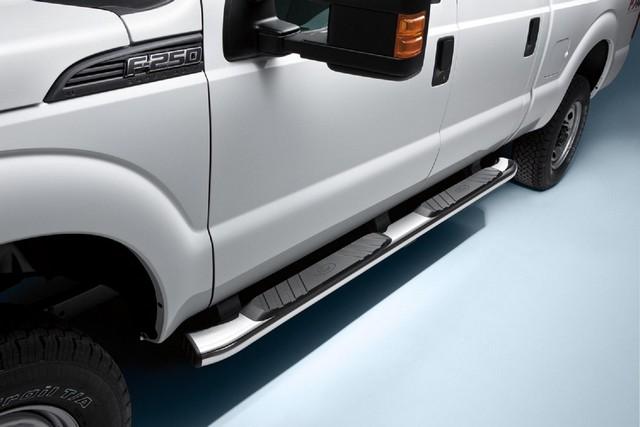 5 Inch, Chromed Aluminum, For Reg Cab