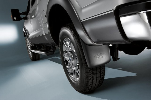 Splash Guards - Molded, Front Pair