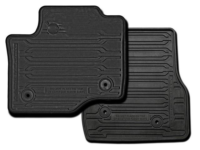 Thermoplastic Rubber, Flat, 2-Piece, Black, Regula