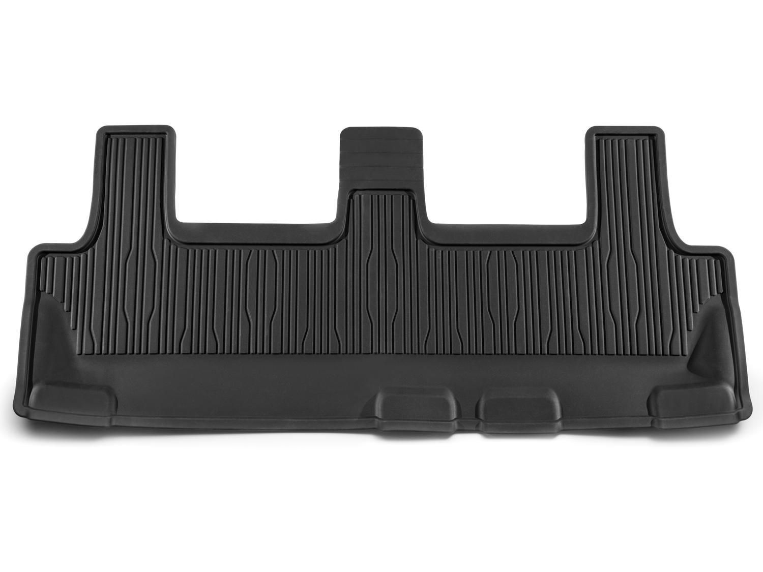Floor Mats - All-Weather Rubber, Black, For 3rd Row