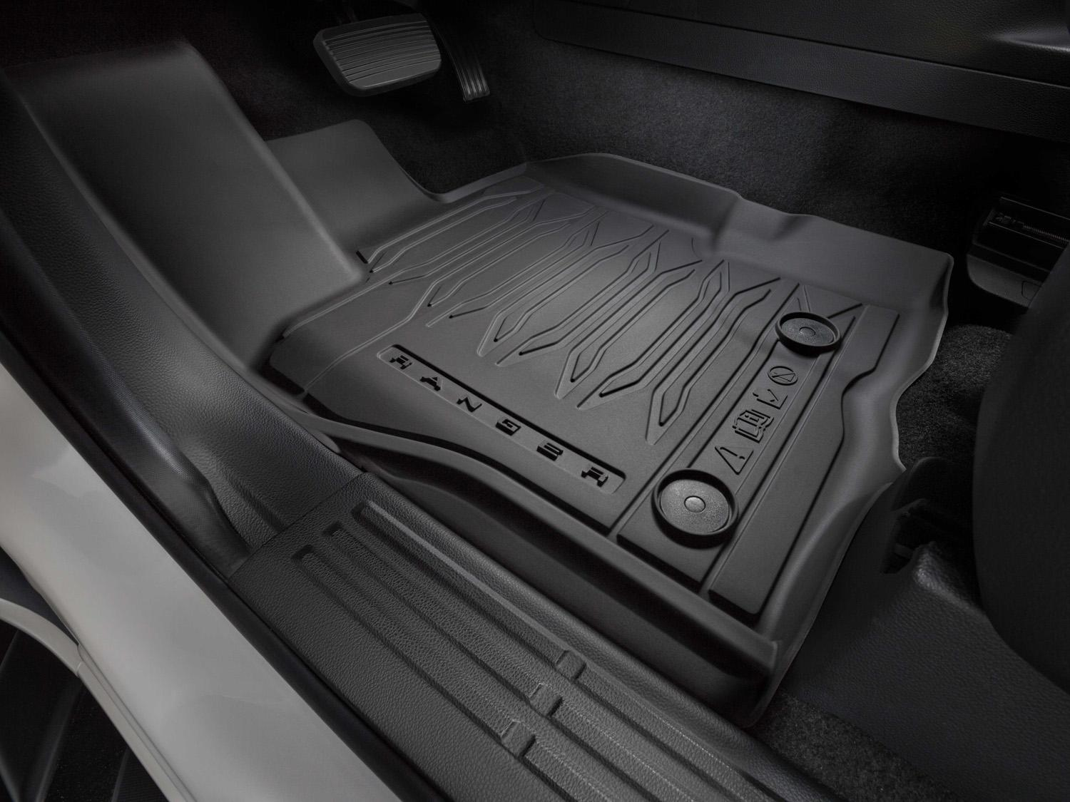 Floor Liners - Black, 4-Piece Set