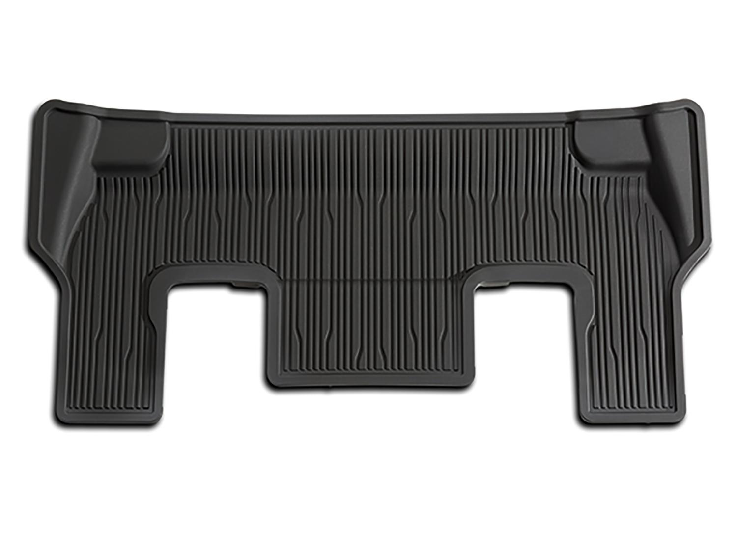 Floor Mats - All-Weather, Black, For 3rd Row