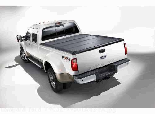 Tonneau Cover - Hard Folding  by REV, 8.0 Bed