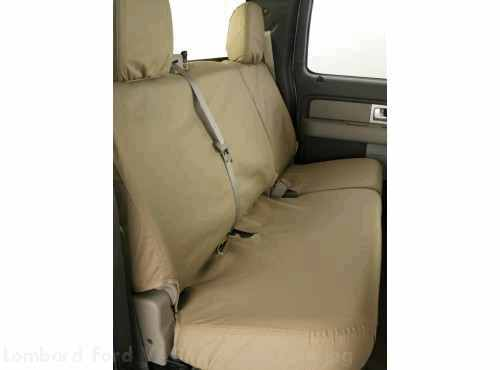 Seat Cover RR S-crew 60-40 no Armrest Taupe