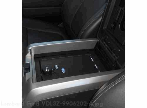 In-Vehicle Safe, Console Mounted