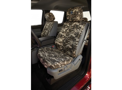 Seat Savers - Front, Forest Camo