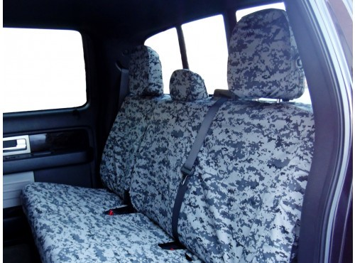 Seat Savers 40-20-40 2nd Row, Winter Camo