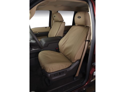 Seat Covers - Front Captains, Taupe
