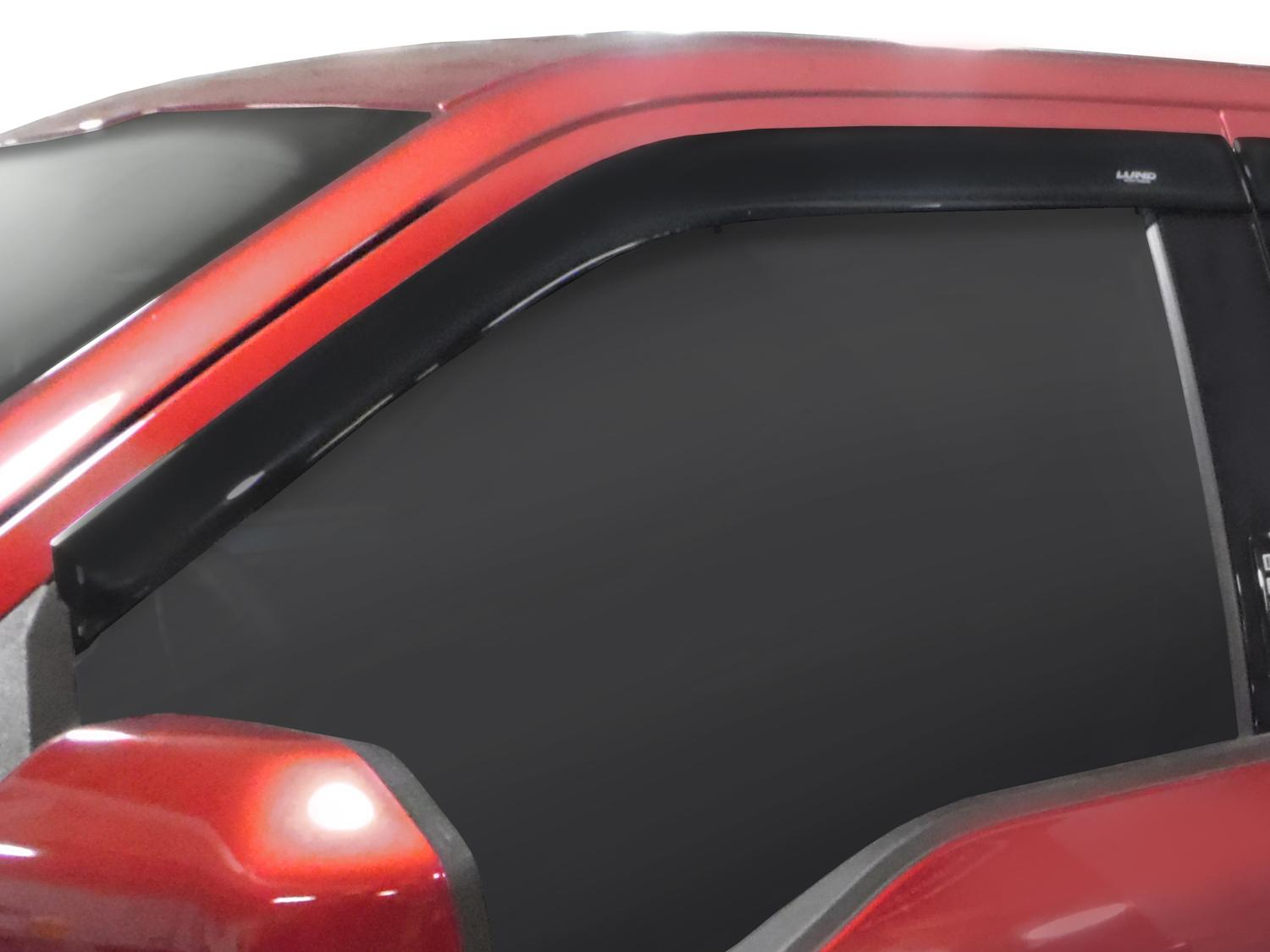 Side Window Deflectors - Smoke, Reg Cab