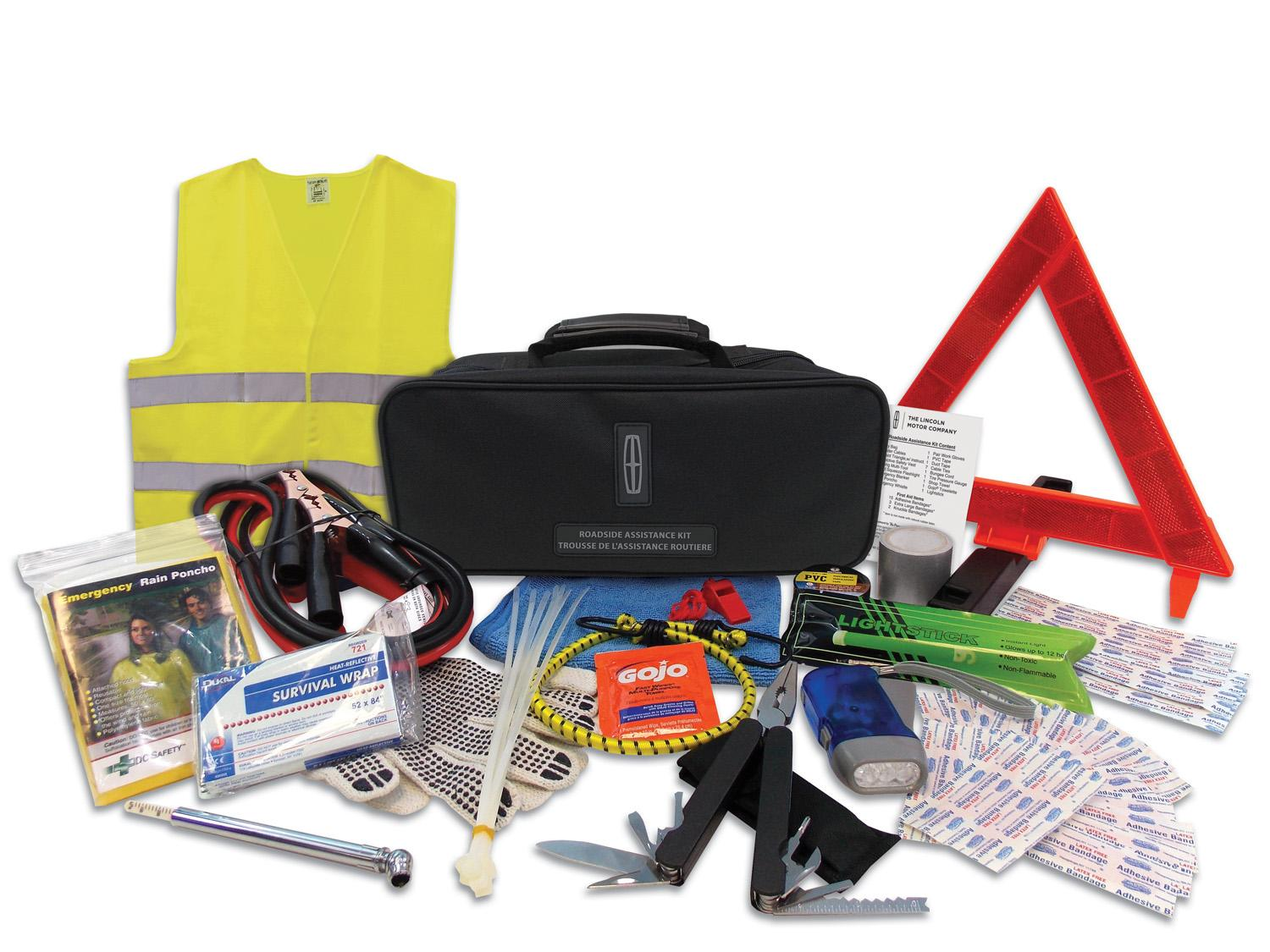 Roadside Assistance Kit - With Lincoln Logo