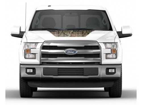 Hood Cowl Stripe Kit, Mossy Oak Camo