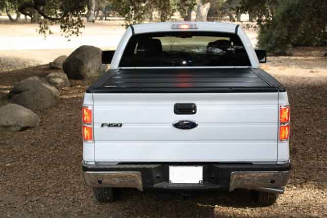 Hard Folding Tonneau Cover 8 Foot