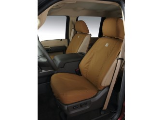 Rear, 60/40 with Armrest, Carhartt Brown
