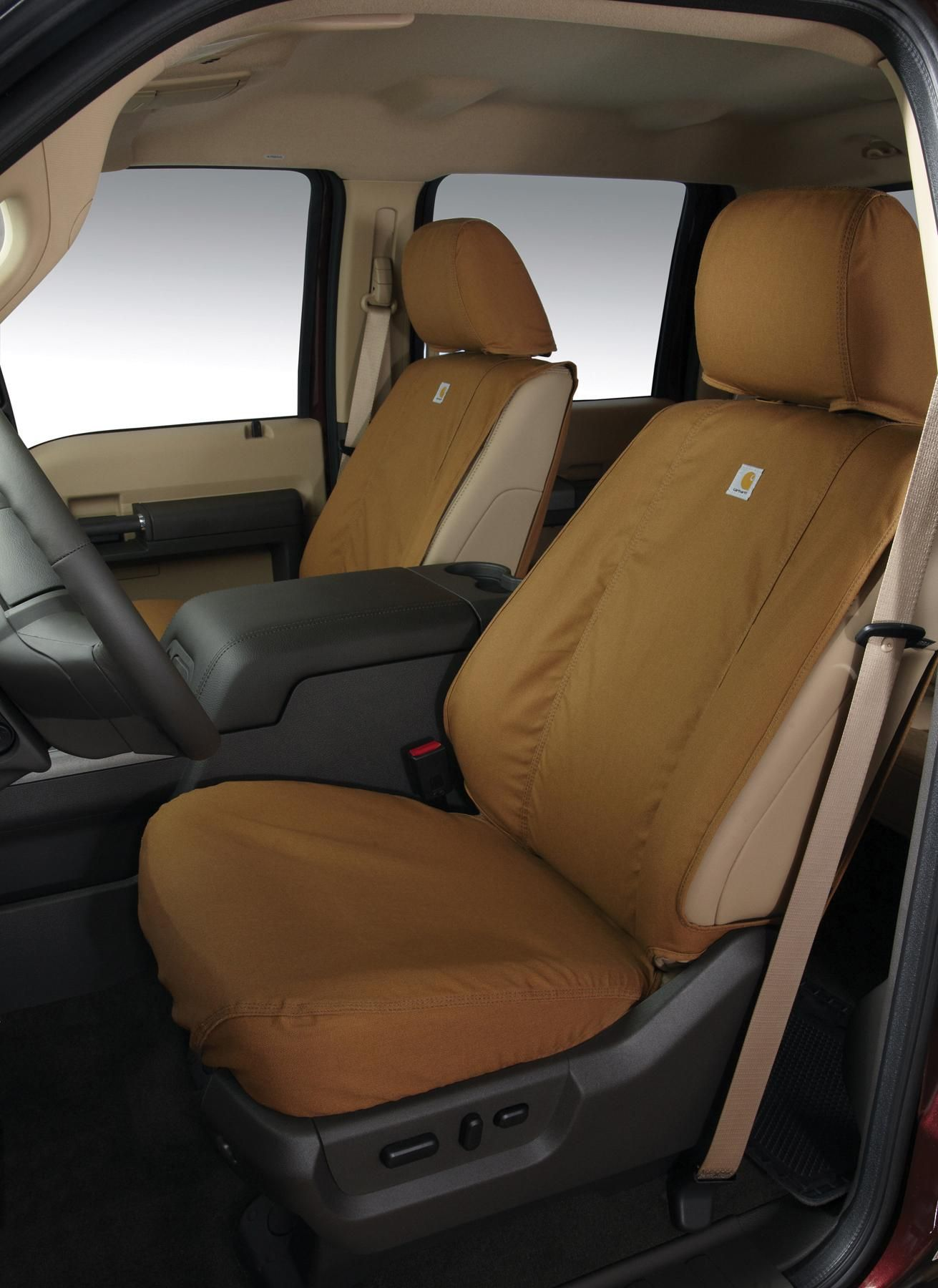 Seat Covers - Carhartt, Rear, Brown