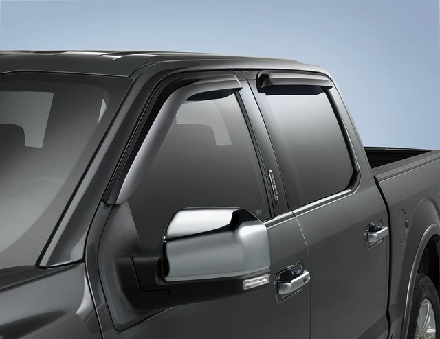 Side Window Deflectors - Reg. Cab