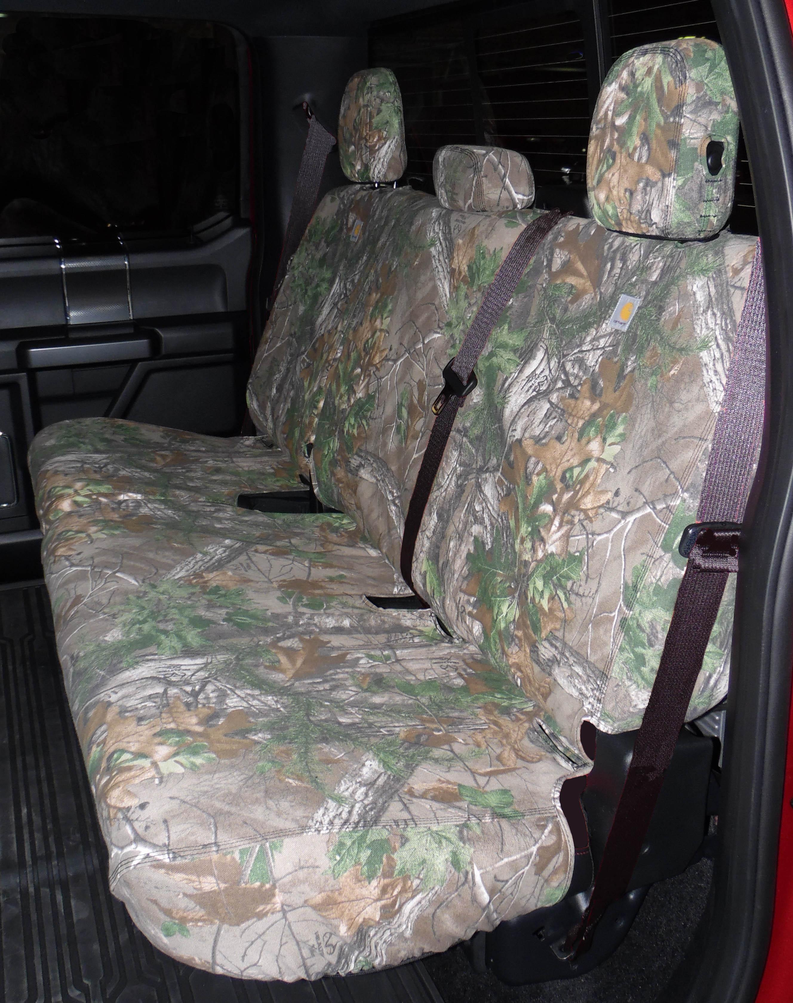 Seat Savers - Rear 60/40, Realtree Green