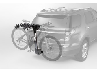 Hitch Mount Bike Carrier, 4 Bikes