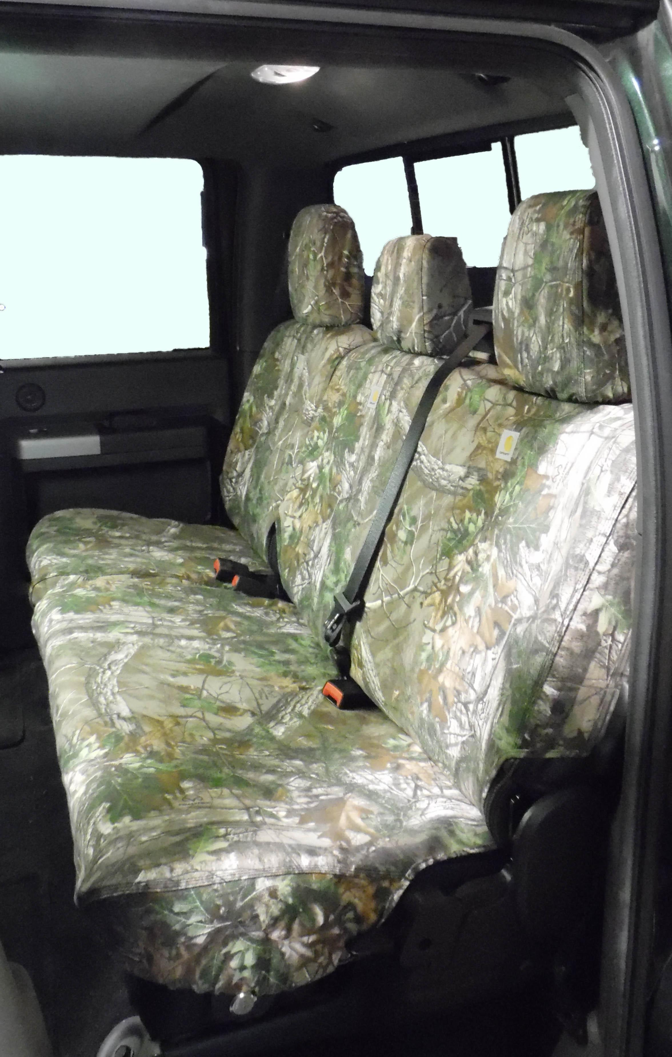 Seat Savers- Rear Super Cab, Realtree Green