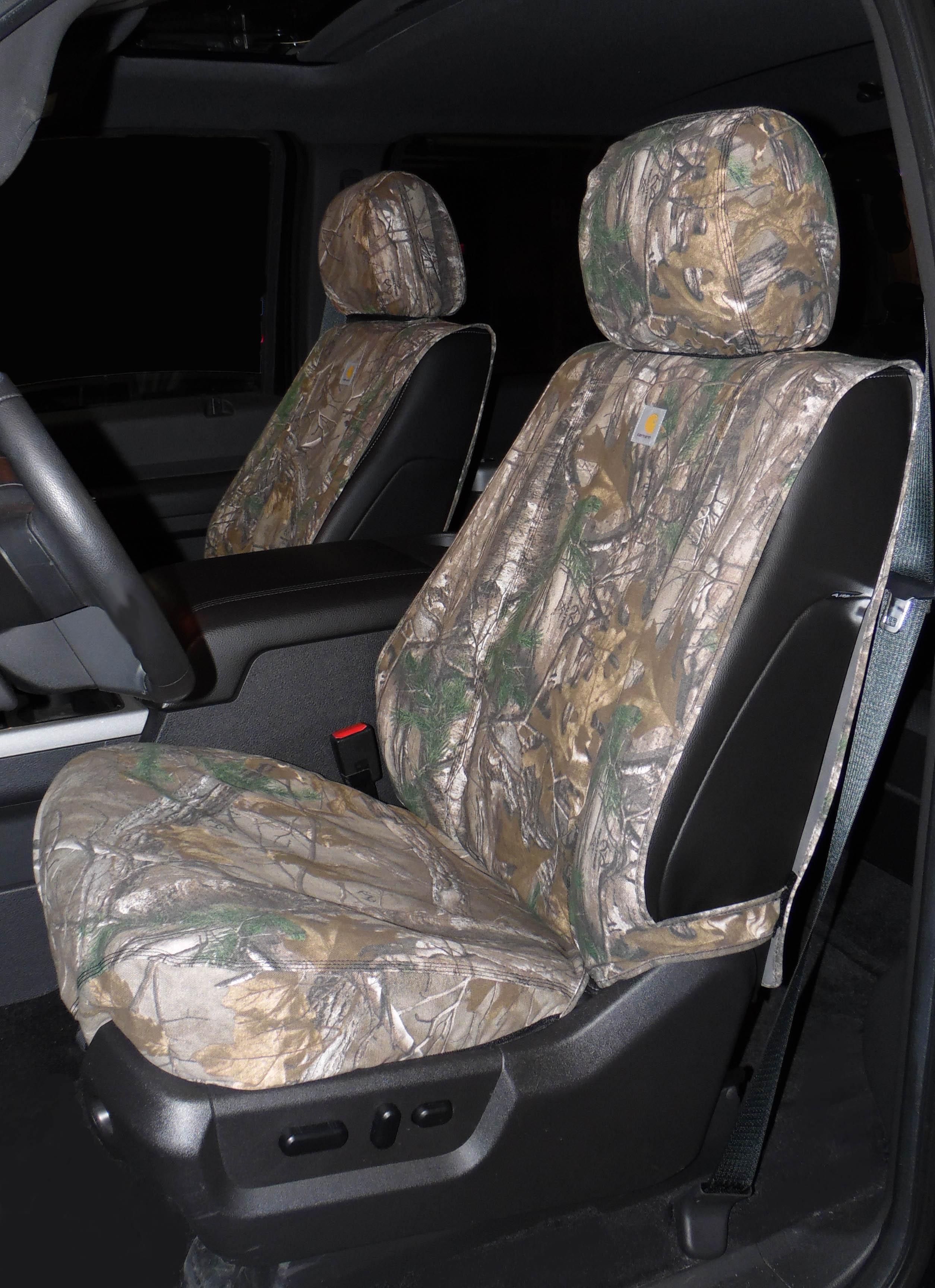 Seat Savers - Front, 40/20/40, Realtree Brown