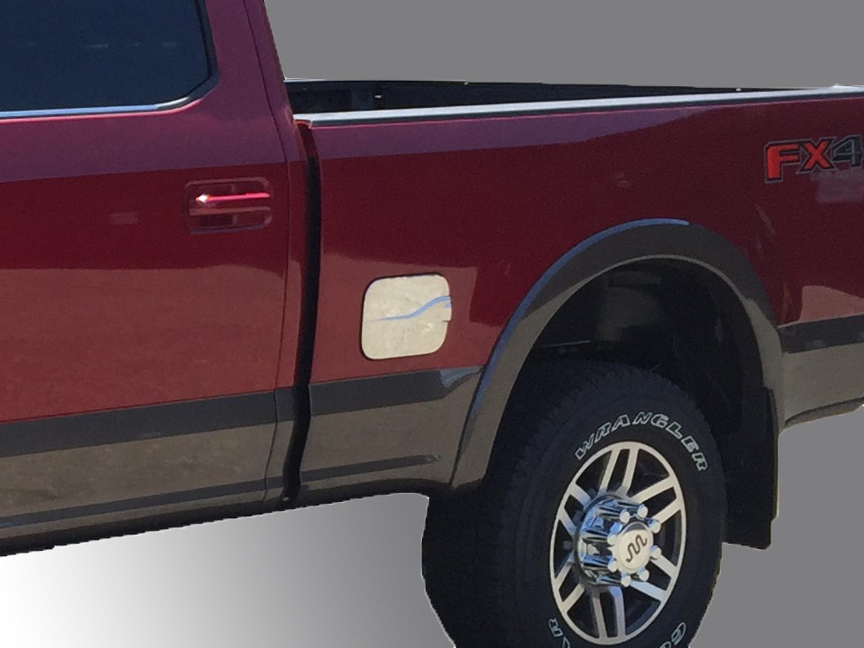 Fuel Door Trim, Chrome