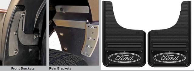 Gatorback® Splash Guards - Rear F150