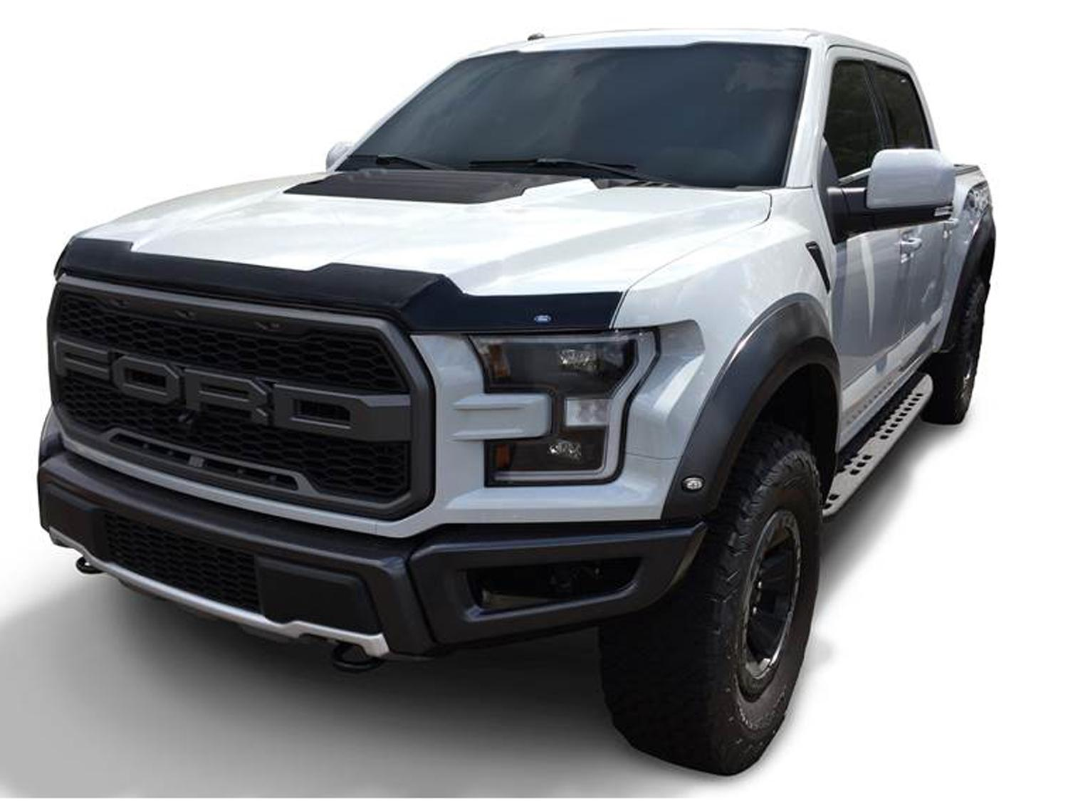 Hood Protector by Lund - Aeroskin, For Raptor, Smoke