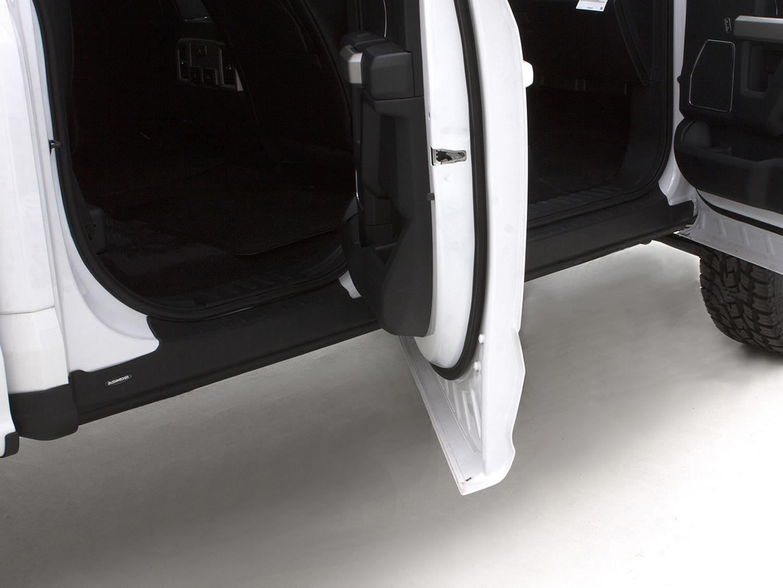 Rocker Panel Protection, Black, SuperCab